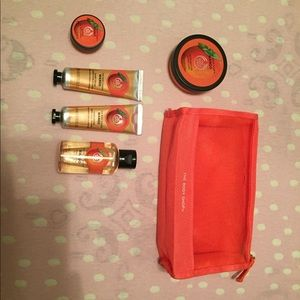 The Body Shop mango collection (smells amazing)